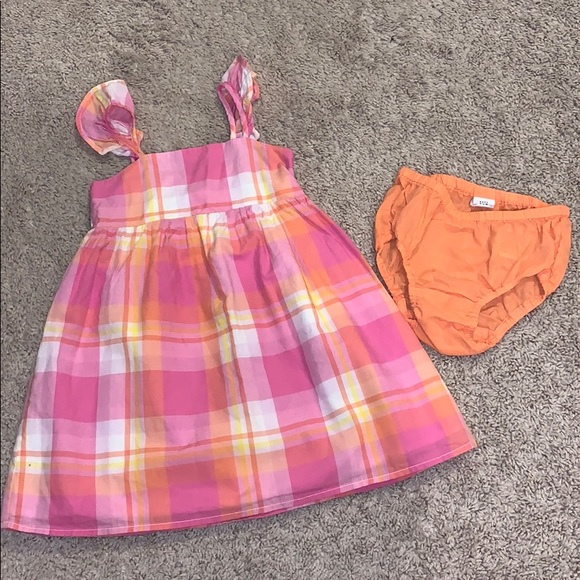 GAP Baby Girl 2-piece Dress Set